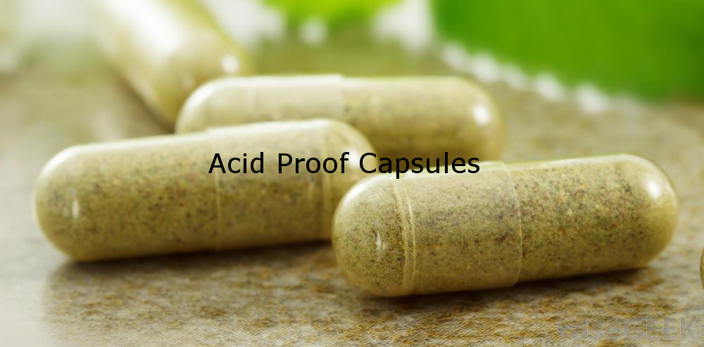 acid proof capsules