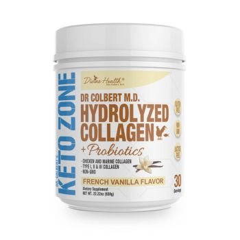 Keto Zone Hydrolyzed Collagen - Vanilla