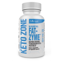 Keto Zone Fat-Zyme - 60 Vegetable Capsules
