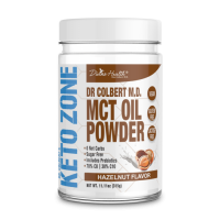 Keto Zone MCT Oil Powder - Hazelnut - 315g - 30 servings