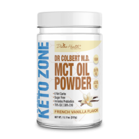 Keto Zone MCT Oil Powder - Vanilla - 315g - 30 servings